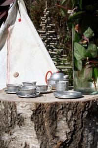 Teepee and Tea
