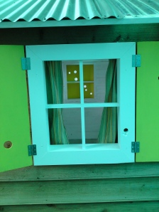 Cubby House Window
