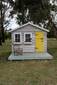 Cubby House front view