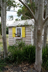 Cubby House left side trees