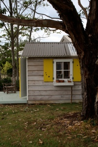 Cubby House right side trees