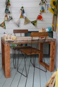 Cubby house table front view